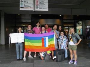 Andrei, Dmitry, Evgenii, Mariia, Olga, Ruslan und Sofia sind da!